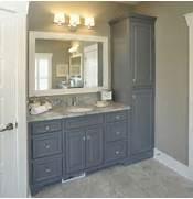 Fresca Torino Walnut Brown Tall Bathroom Linen Side Cabinet  Burroughs Hardw
