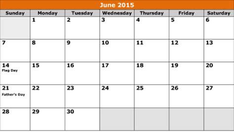 printable june  calendar ws templates forms