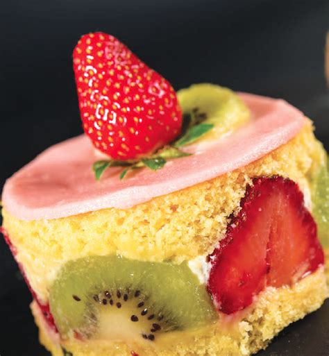 cuisine uretre et dessert dessert recette fraisier kiwi