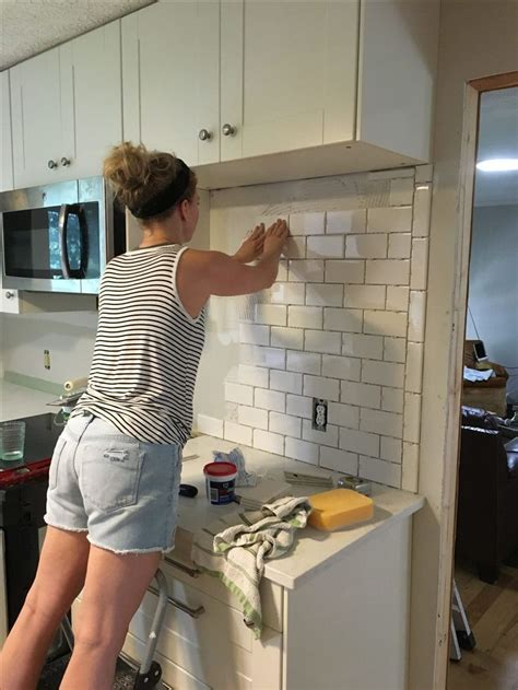 subway backsplash tiles kitchen 12 best subway tiles images on home ideas