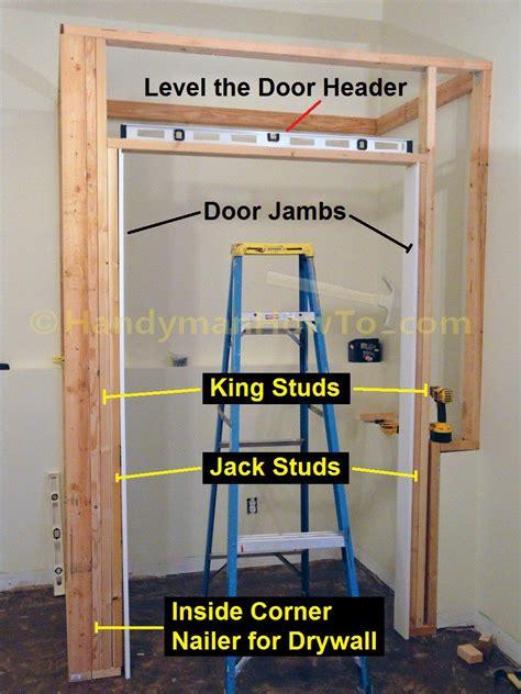 Framing Sliding Closet Doors by How To Build A Basement Closet