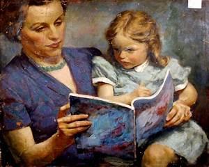 211 best Moms readers in art history / Mamás lectoras en ...