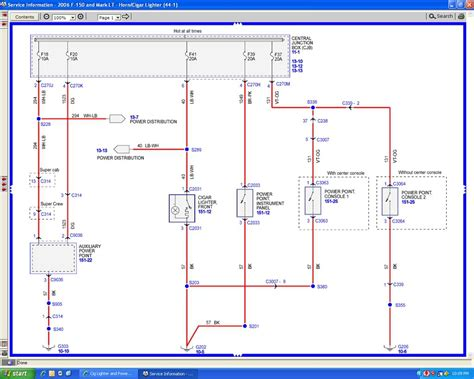 Wiring Diagram 2005 Ford F450 Xl by Cig Lighter And Power Point Not Working Ford Truck