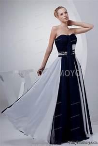 white and navy blue wedding dresses 2016 2017 b2b fashion With navy and white wedding dress