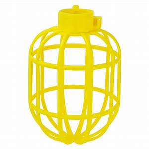 Plastic lamp guard replacement cage