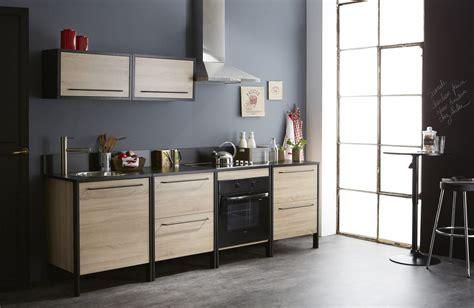 le chene cuisine cuisine complète contemporaine chêne brut noir kassel
