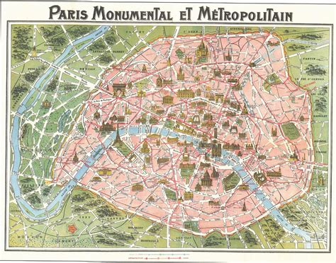 map  paris france