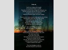 Lenten Reflection Psalm 46 – Canadian Baptists of Ontario