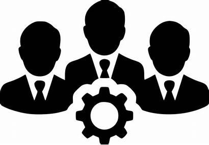 Teamwork Clipart Icon Team Users Svg Gear