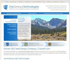denver web design seo web design company denver new website