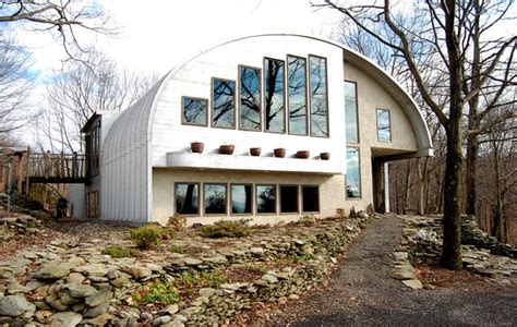 quonset hut steel homes friendly eco feet square fachadas upstate brings rhinebeck modified