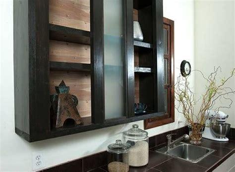 hand  doorless cabinets  modern rust custommadecom
