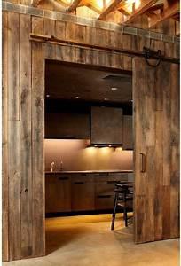 gramercy penthouse new york With barnwood door ideas