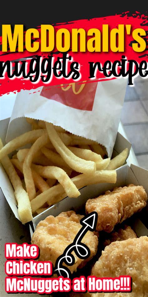 McDondald's Chicken Nuggets Recipe - Rae Gun Ramblings
