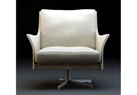 Boss Swivel Armchair Flexform