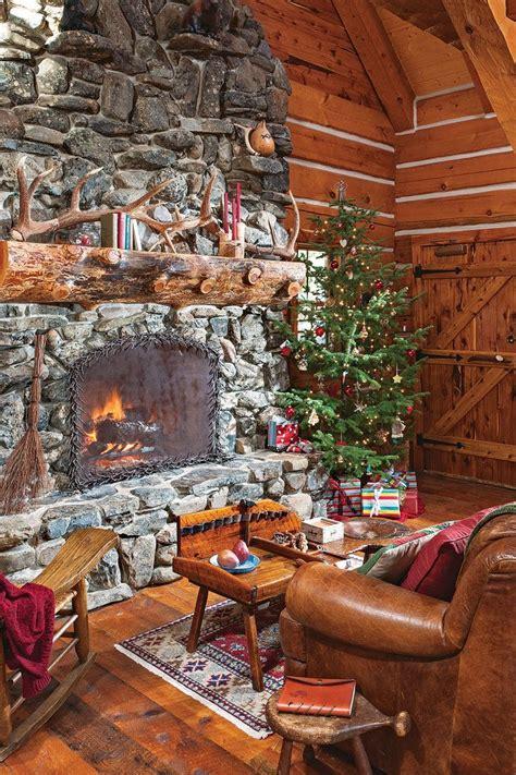 Jack Hanna's Montana Log Cabin Getaway | Cabin fireplace ...