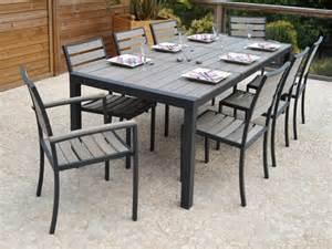 Table Et Chaise De Jardin Pas Cher Carrefour by Salon De Jardin Pvc Mobiliers Exterieurs