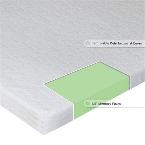 memory foam mattress topper for sleeper sofa sleep master 1 5 inch sleeper sofa memory foam mattress