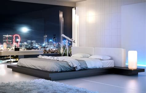 High Bedrooms by Sleek Bedrooms With Cool Clean Lines