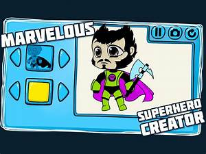 Marvelous, Superhero, Creator, For, Android