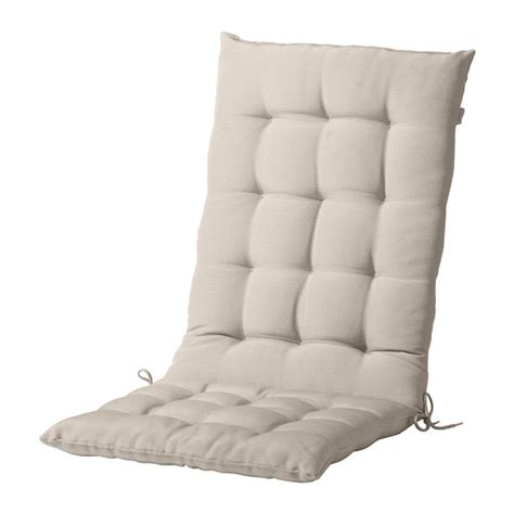 High Back Patio Chair Cushions Home Depot by H 197 Ll 214 Coussin Assise Dossier Ext 233 Rieur Beige Ikea