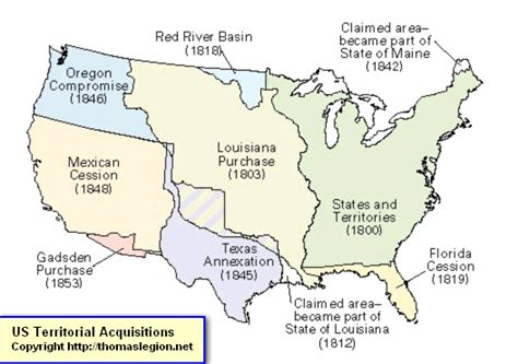 Mexican Cession History Territory Mexican Cession Summary US