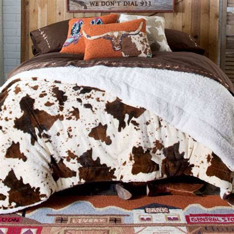 Cowhide Blanket - cozy blankets and bedding you need for fall page 3 of 6