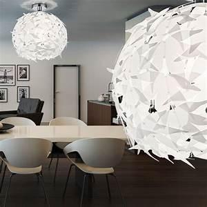 Große Wohnzimmer Lampe : lustre grosse boule spot luminaire marchesurmesyeux ~ Markanthonyermac.com Haus und Dekorationen