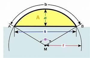 Radius Eines Zylinders Berechnen : kreissegment wikipedia ~ Themetempest.com Abrechnung