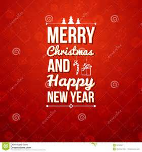 merry and happy new year card royalty free stock photography image 34732557