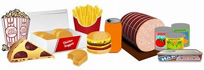Processed Clipart Transparent Junk Meat Meal Clip