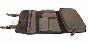 Kulturtasche Herren Leder : ashlie leather ge lt leder und stoff herren kulturtasche aufh ngen 7010 ebay ~ Watch28wear.com Haus und Dekorationen