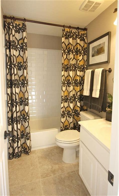 bathroom curtains  regular curtains   rod