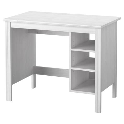 white desk ikea brusali desk white 90x52 cm ikea