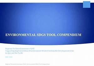 Environmental Sdgs Tool Compendium