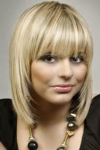 Frisuren Schulterlanges Haar Gestuft Mit Pony 13 fabulous medium hairstyles with bangs pretty designs