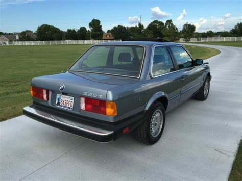 1985 Bmw 325e Base Coupe 2door 27l E30 For Sale Photos