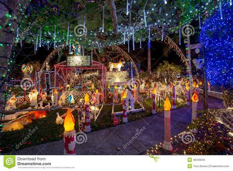 christmas lights st petersburg fl extravagant christmas lights editorial image image 48439040