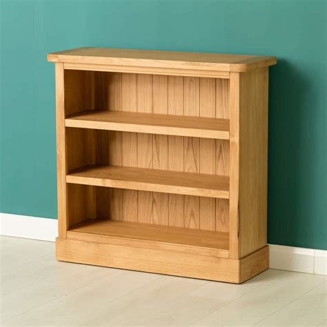 And Low Bookcase by Hshire Light Oak Low Bookcase With Plinth W 85cm