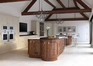 cuisine meubles cuisine bois massif fonctionnalies With meuble de cuisine bois massif