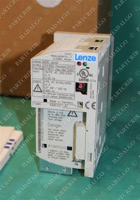 lenze e82ev371k2c frequency inverter 8200 vector 1 240v new partcrib