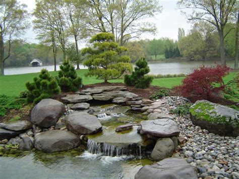 landscaping pond boise meridian eagle ponds and waterfalls aloha gardening