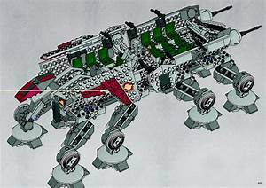 LEGO Republic Dropship with AT-OT Walker Instructions ...