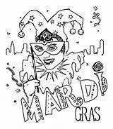 Gras Mardi Coloring Jester Carnival Sheets Mask Crayola Crafts Printable Tuesday Coloriage Fat Popular Activities Disney Cake Babble Cool Coloringhome sketch template