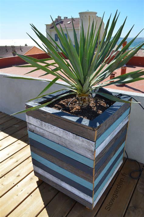 bac plantes plantations bois marseille palette