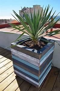 Plantes En Pot Pour Terrasse : bacs plantes bois sur mesure marseille ~ Dailycaller-alerts.com Idées de Décoration