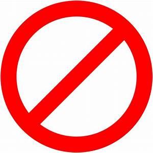 Transparent no Symbol Clipart (63+)