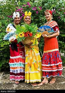 Cuban Ladies in Traditional Dress Plaza de Armas Old Havana havana Cuba Stock Photo | Islanders ...