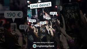 Gutscheincode Dein Handy : aber wie viel ist dein handy wert myhandycheck handy ~ A.2002-acura-tl-radio.info Haus und Dekorationen