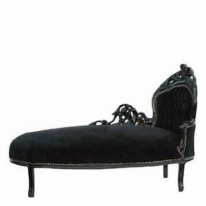 Gebrauchte Barock Möbel : casa padrino barock chaiselongue schwarz schwarz recamiere liege sofa m bel couch rekami s ~ Cokemachineaccidents.com Haus und Dekorationen